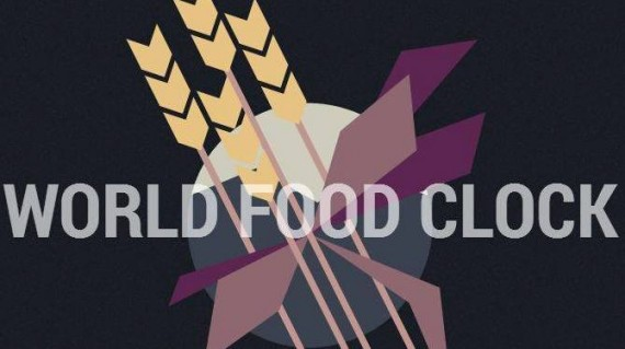World Food Clock - Credits World Food Clock