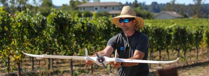 Drone Agricolo - Credits 3D Robotics