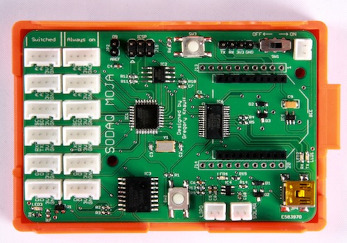 SODAQ: Piattaforma Open Source Arduino Compatible