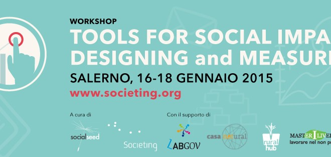 Due Borse Di Studio Per Il Workshop Tools For Social Impact Designing And Measuring
