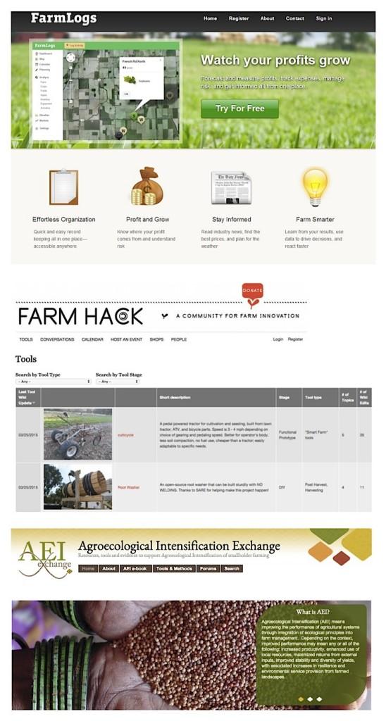FarmLogs, FarmHack e AEIx