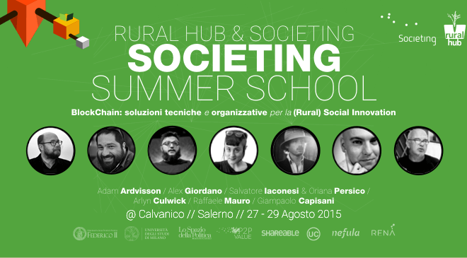 Societing Summer School 2015