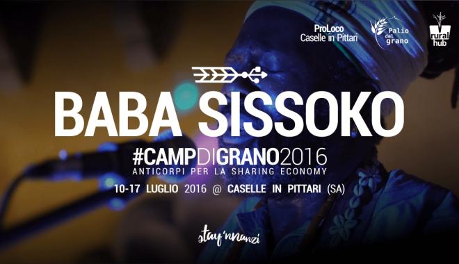 #CampdiGrano: Baba Sissoko – Il Griot Contadino